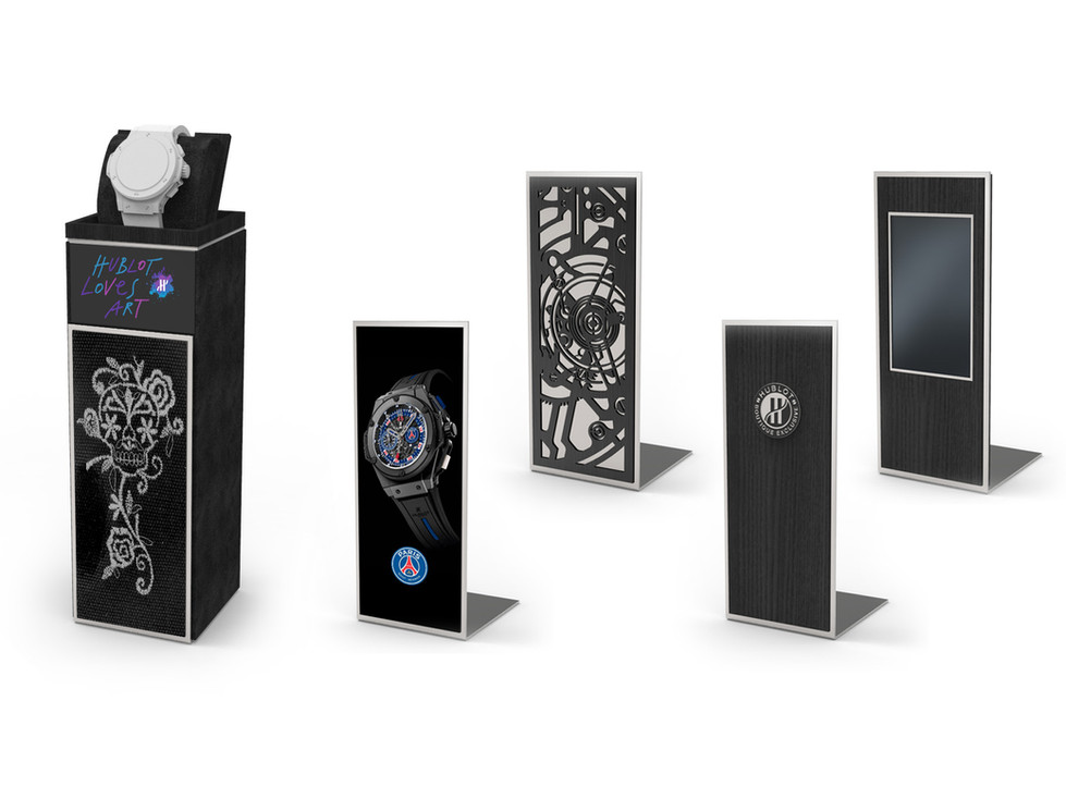 Display Concept - Generation 3  - Boutique Watch Holder for Animations
