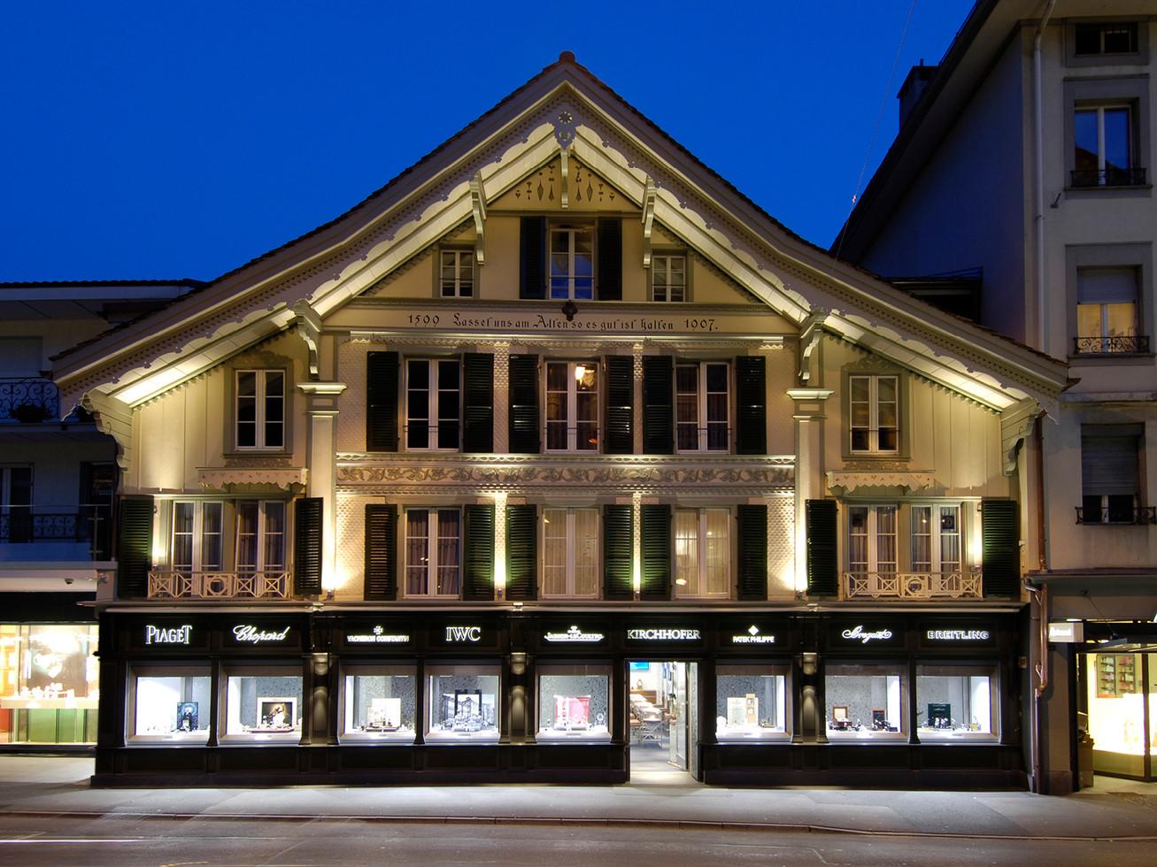 Kirchhofer - Haute Horlogerie Boutique - Interlaken