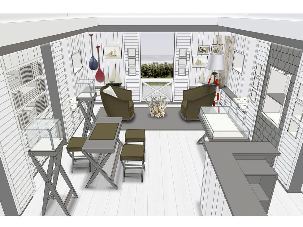 Boutique Concept - 3d preview