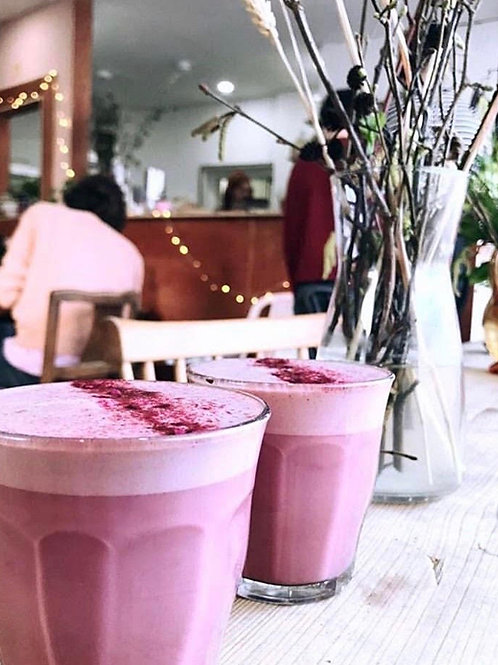 WT @Home: Beetroot hot chocolate