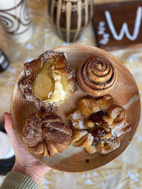 Easter breakfast pastries