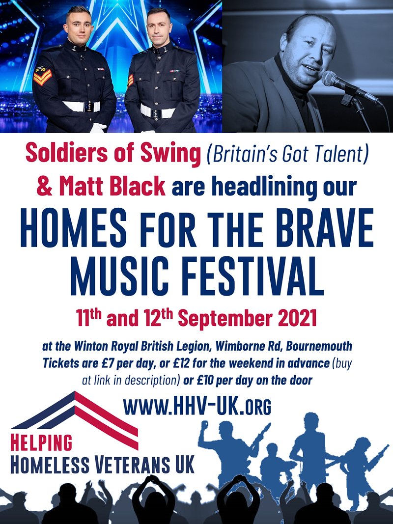 HHV-UK Homes for the Brave Music Festiva