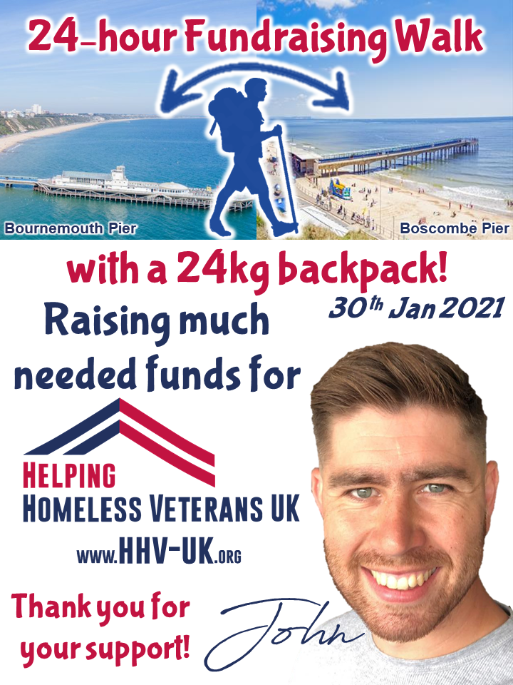 John Lewis - HHV-UK Fundraising 24hr Wal