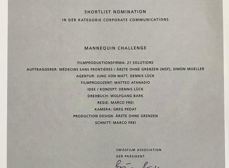 Awards for Medicins Sans Frontieres - Mannequin Challenge