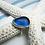 Thumbnail: Aqua Sea Glass Ring (size 6.5)