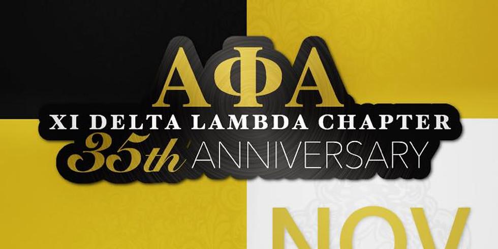 Xi Delta Lambda Chapter 35th Annivery