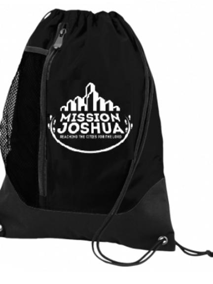 String backpack black