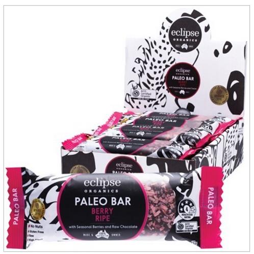 ECLIPSE ORGANICS Raw Paleo Bar Berry Ripe 45g
