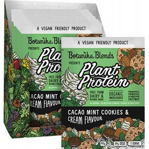 Plant Protein Cacao Mint Cookies & Cream 40g
