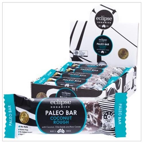 ECLIPSE ORGANICS Raw Paleo Bar Coconut Rough 45g