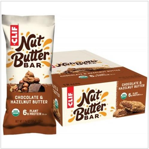 CLIF Nut Butter Bar Chocolate & Hazelnut Butter
