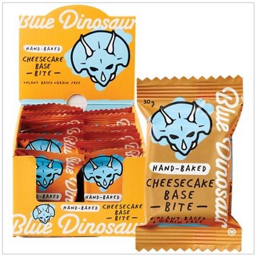 BLUE DINOSAUR Hand-Baked Bite Cheesecake Base 30g