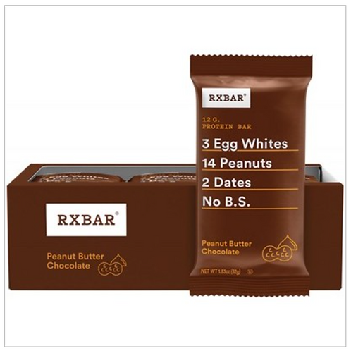 RXBAR Protein Bar Peanut Butter Chocolate 52g