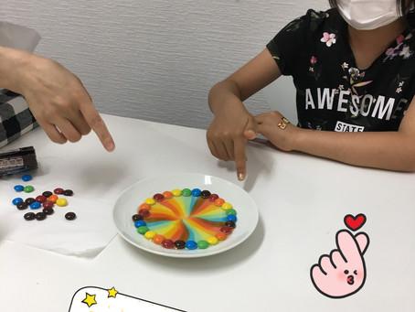 本日の🌈実験大成功!!!