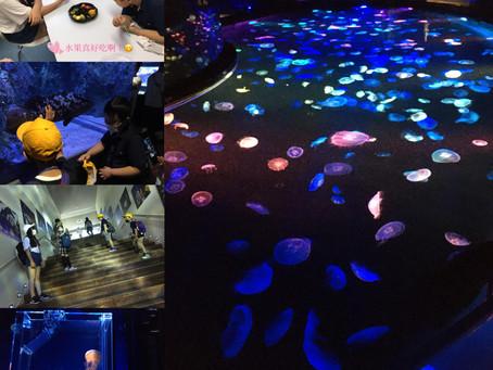夏休みイベントで、すみだ水族館へ行ってきました。!(^^)!