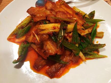本場中華料理。ごちそうさまでした。