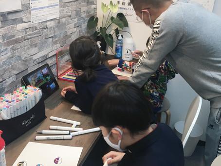 中国語で絵を描こう