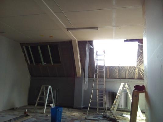 Opbouw klaslokalen