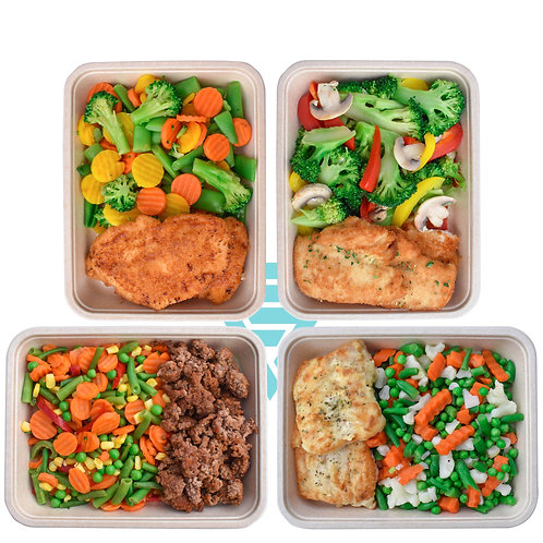 Pakket 12 Afslankmaaltijden