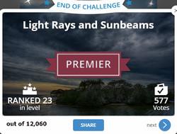 2018 07 01 light rays and sunbeams