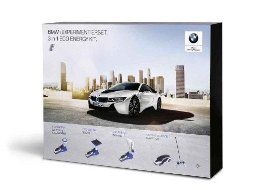 BMW i Experimentierset. 3 in 1 Eco Energy Kit.