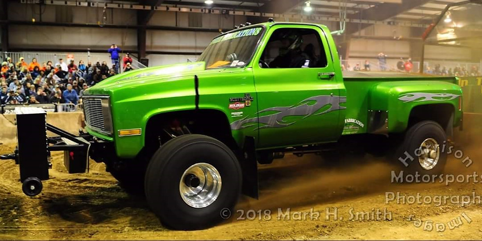 Spring Fever Indoor Truck and Tractor Pull Sponsored By: Angry Farmer Products