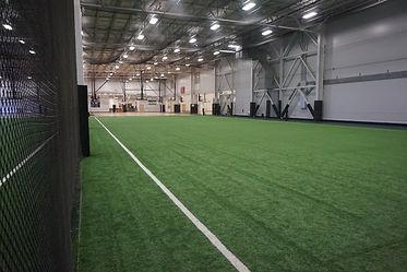 Indoor Soccer field heber