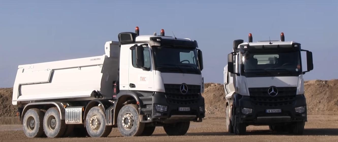 Mercedes Tecknitrucks