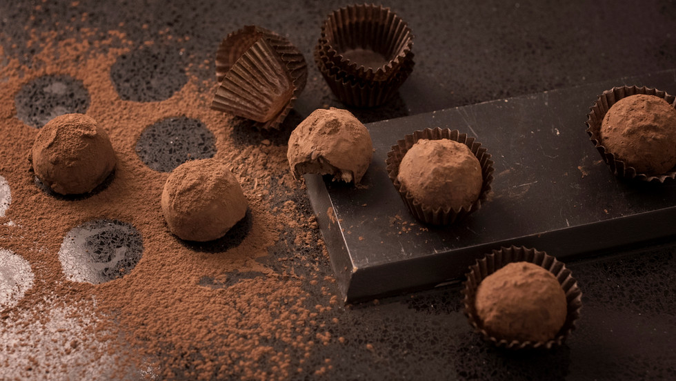 רקע טרפלס שוקולד