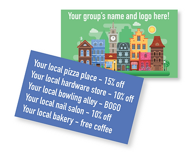 Customized Local Discount Card Image