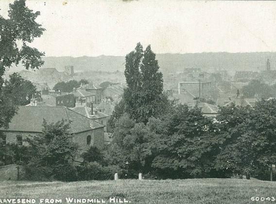 Gravesend from Windmill Hill