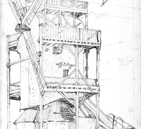 Etching of the Mill