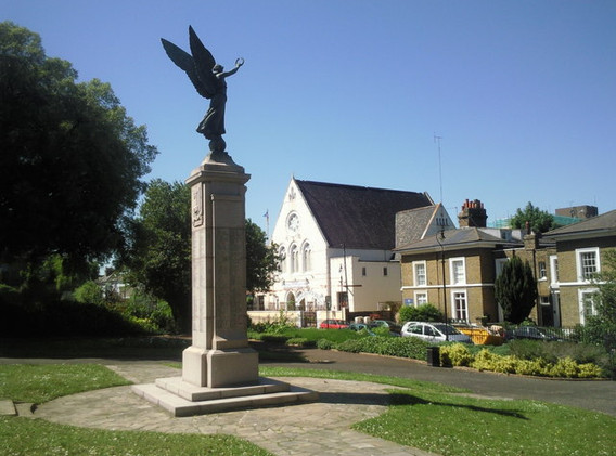 The War Memorial in the Windmill Hill Gardens
