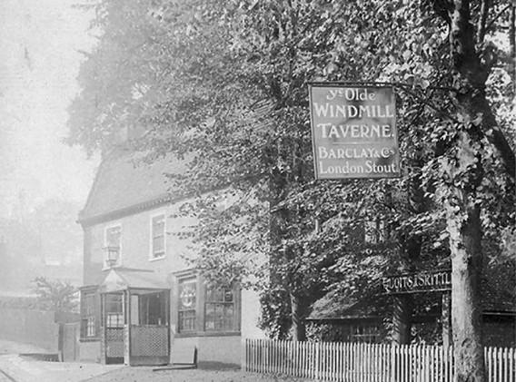 The Windmill Tavern - 1907