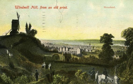 Postcard of Windmill Hill