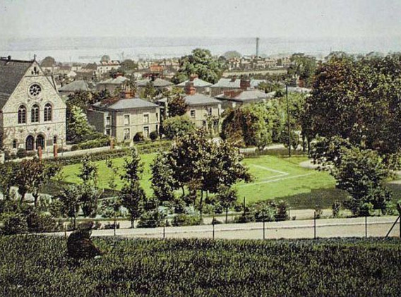 View of Gravesend from Windmill Hill