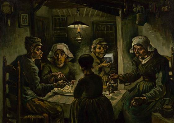 Van Gogh 'The Potato Eaters' - Cube.png