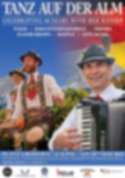 Tanz Auf Der Alm Accordian and Dancers (