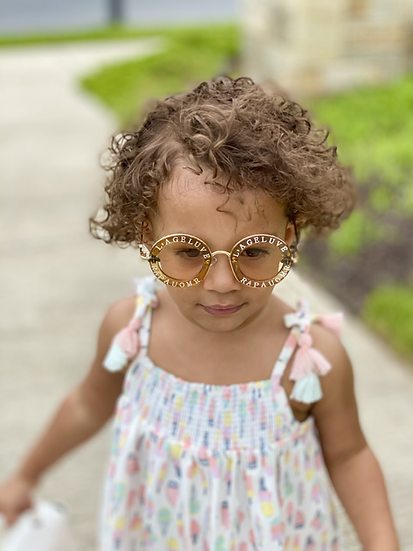 Hayden's Circle Sunglasses Brn