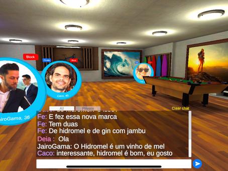 FIND Connecting People-App de relacionamento 3D