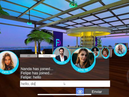 Primeiro App de relacionamento em 3D no mundo!
