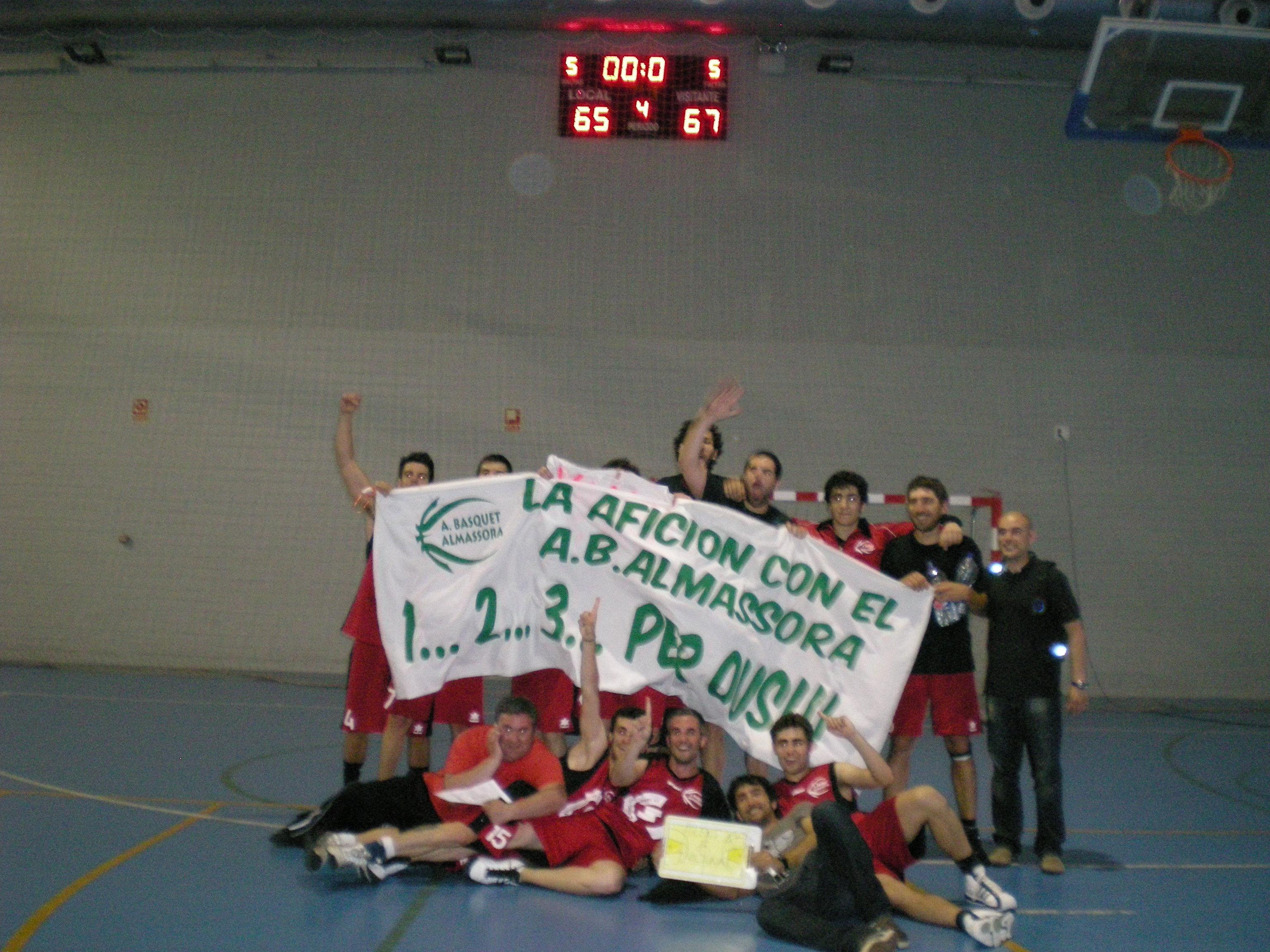 final del partit contra Pilar