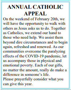 Annual Catholic appeal.PNG
