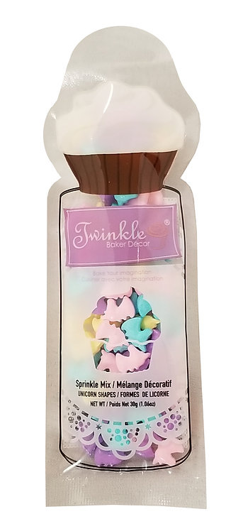 Sprinkles 30g Unicorn Shapes Pouch