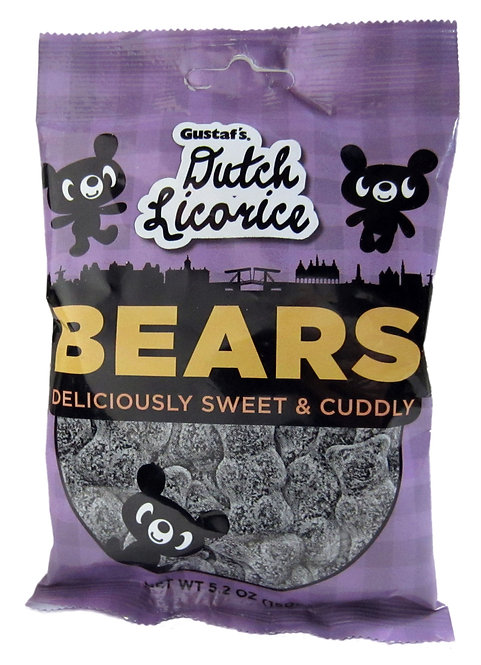 Gustaf's Sugared Licorice Bears