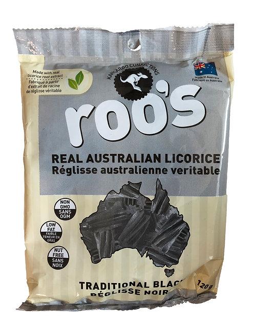 ROO'S Australian Licorice Black