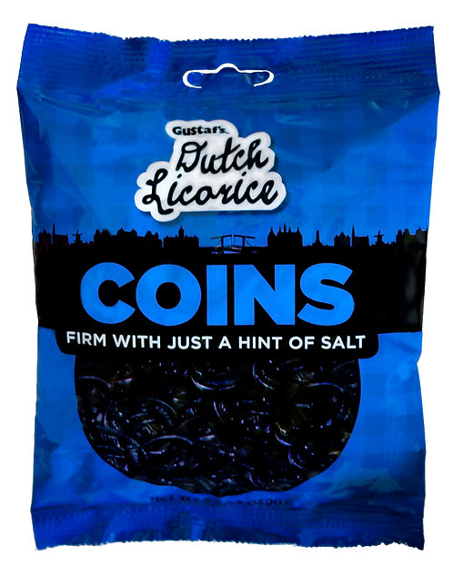 Gustaf's Licorice Coins