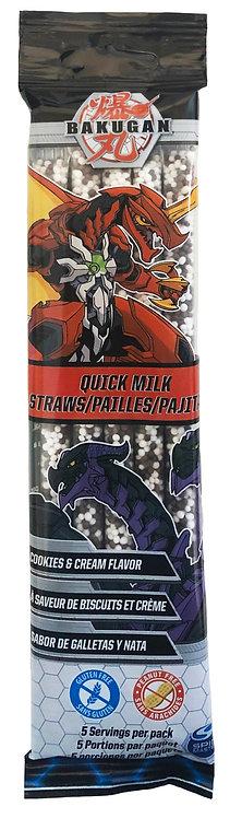 Bakugan Quick Milk Cookies n Cream 5 pack