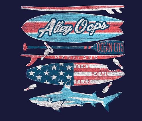 Shark Stack T-Shirt