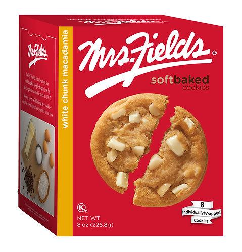 Mrs. Fields White Chunk Macadamia Cookies - 8 oz